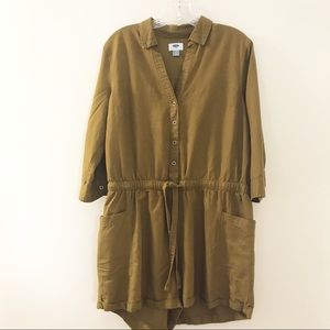 Old Navy Womens Romper Size Large Tie Waist